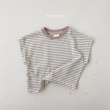Load image into Gallery viewer, Mitty Stripe Tee Shirt * Preorder