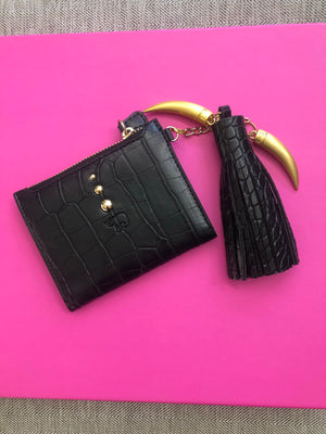 Open image in slideshow, Life bags wallet with Tassel