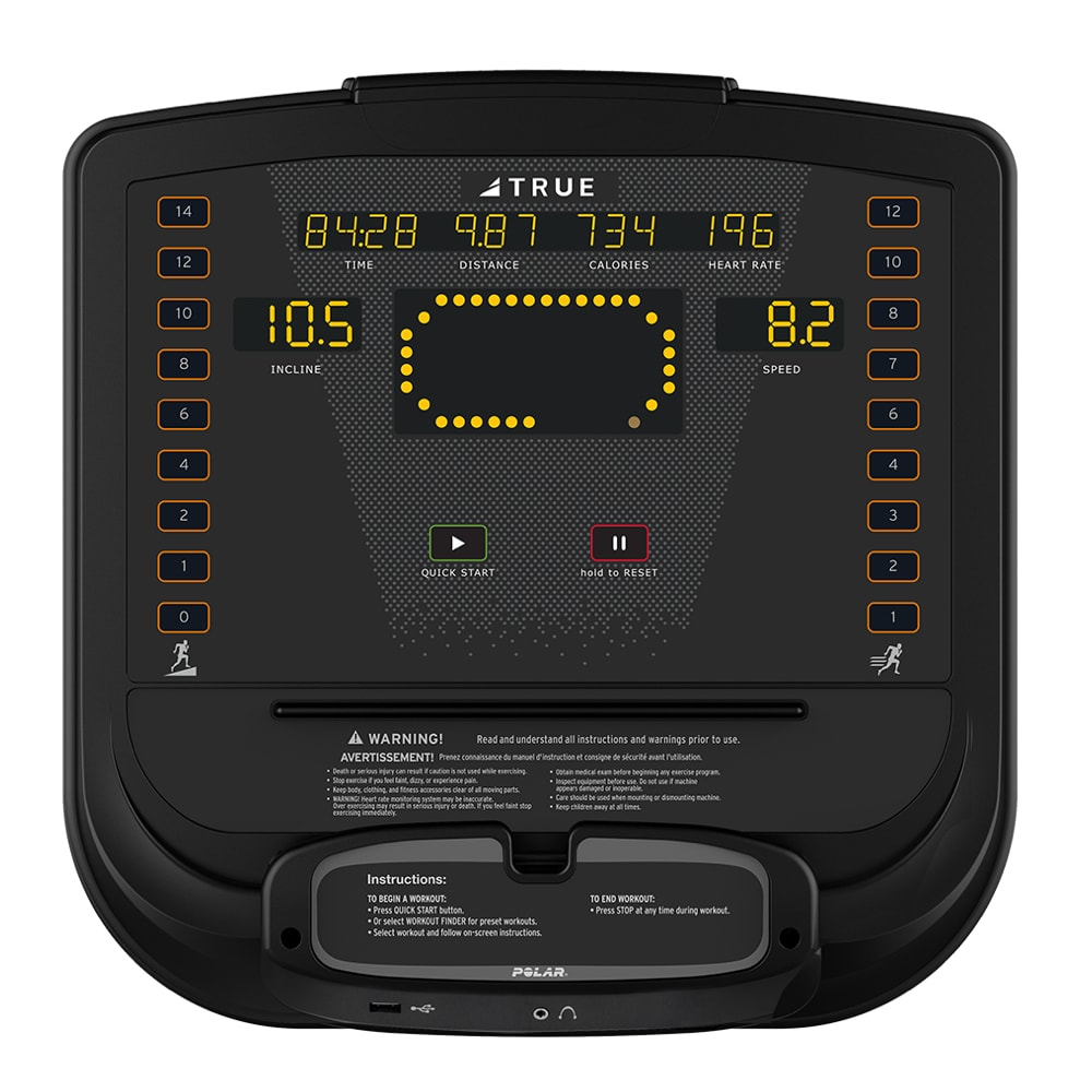 TRUE Ignite Hiit Console Display