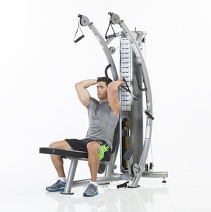 TuffStuff Six-Pak Functional Trainer (SPT-7) in use