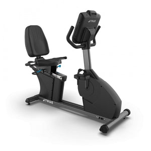 TRUE Fitness C400 Commercial Recumbent Bike front