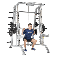 Load image into Gallery viewer, TuffStuff Evolution Smith Machine / Half Cage Combo (CSM-600) Squat