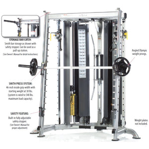TuffStuff Corner Multi Functional Trainer (CXT-200) description