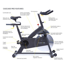 Load image into Gallery viewer, Cascade CMXPro Group Exercise Bike at Fitness Gallery