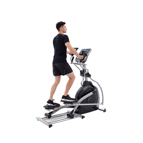 Spirit Fitness XE295 Elliptical runner rear