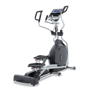 Spirit Fitness XE395 Elliptical side-rear