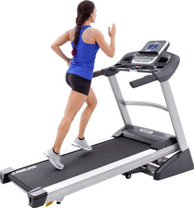Spirit Fitness XT385 Treadmill runner inclined