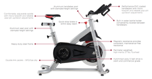Load image into Gallery viewer, Spirit Fitness CIC800 Commercial Indoor Bike description
