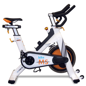 TRUE Fitness Spin Bike white