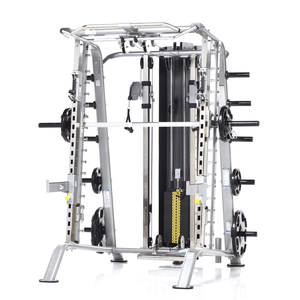 TuffStuff Evolution Smith Machine / Half Cage Ensemble (CSM-725WS) no bench