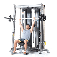 Load image into Gallery viewer, TuffStuff Corner Multi Functional Trainer (CXT-200) Shoulder Press