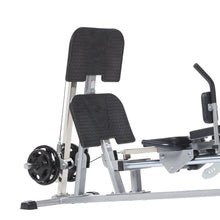 Load image into Gallery viewer, TuffStuff Horizontal Leg Press / Hack Squat (CLH-300) bottom