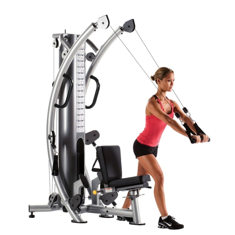 TuffStuff Six-Pak Functional Trainer bench standing