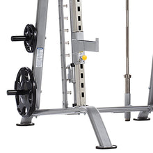 Load image into Gallery viewer, TuffStuff Evolution Smith Machine / Half Cage Combo (CSM-600) close left