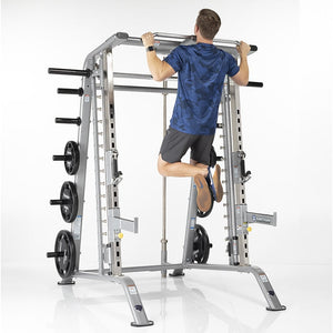 TuffStuff Evolution Smith Machine / Half Cage Combo (CSM-600) Pull Up