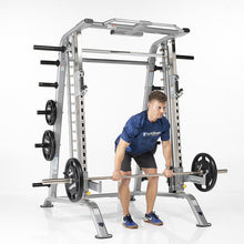 Load image into Gallery viewer, TuffStuff Evolution Smith Machine / Half Cage Combo (CSM600) Deadlifts