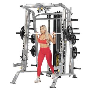 TuffStuff Fitness Evolution Smith Machine / Half Cage Ensemble (CSM-725WS)
