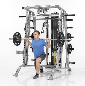 TuffStuff Smith Machine / Half Cage Ensemble (CSM-725WS) - Lunges