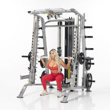 Load image into Gallery viewer, TuffStuff Fitness Evolution Smith Machine / Half Cage Ensemble (CSM-725WS) - Smith Squat