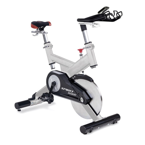 Spirit Fitness XIC600 Spin Bike side front