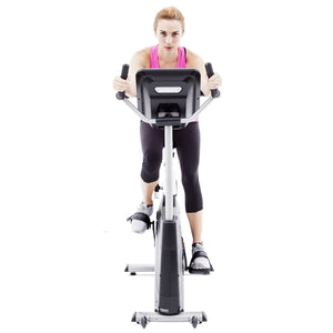 Spirit Fitness XBU55 Upright Bike front
