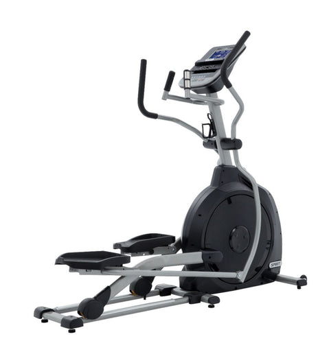 Spirit Fitness XE195 Elliptical rear-side