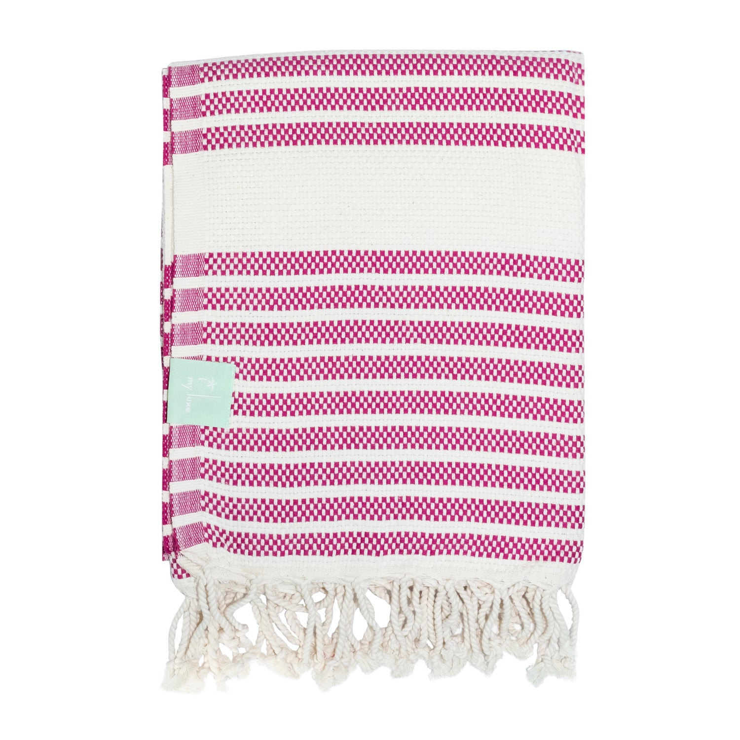 Striped hammam towel
