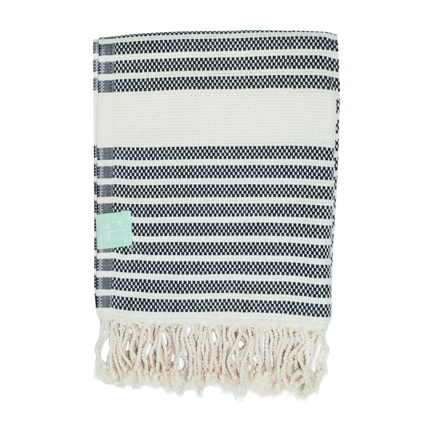 towel with fringe