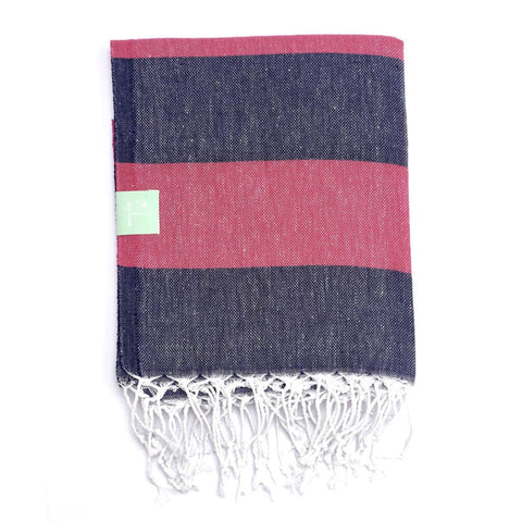 Nautical Stripe Hammam Towel