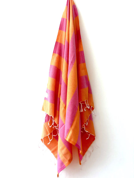 bright beach towels