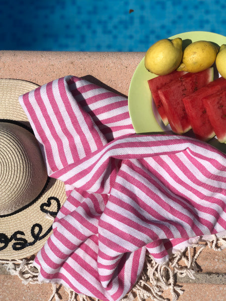 Cherry Candy Hammam Towel