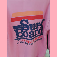 Surf Board Jumper Flushed Pink