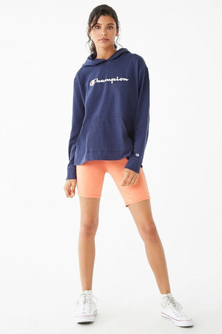Champion Heavyweight Jersey Graphic Hoodie