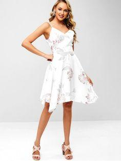 Floral Cami Handkerchief Dress