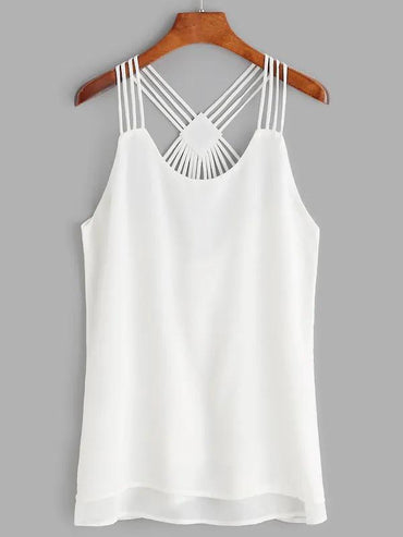 Strappy Back Layered Tank