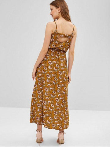 Sunflower Cut Out Maxi Dress