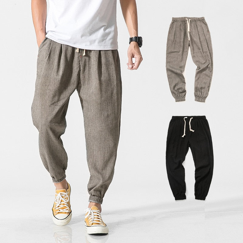 Zogaa Chinese Style Harajuku Casual Harem Pants Men Jogger Pants Men Fitness Trousers Hip Hop Casual Male Joggers Streetwear