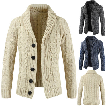 Autumn And Winter New Men's Long-sleeved Sweater