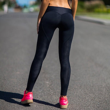 High Waist Workout Gym Sports Heart Yoga Pants Fitness Leggings