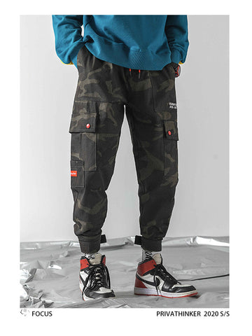 Ankel-Length Camo Pants