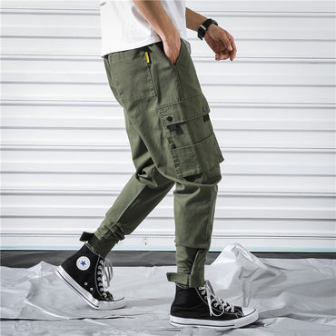 Multi-Pocket Joggers Splice Tactical Pant