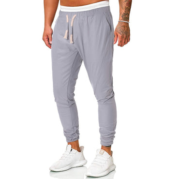Track Pants Fashion Solid Long Sports Fits harem pants
