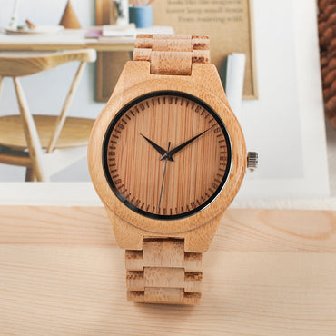 Top Brand Design Watches Wood Wristwatches