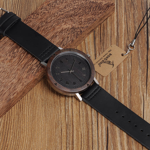 Watch Rome Number Dial Face Soft Leather Band Japan Quartz 2035 Wristwatch