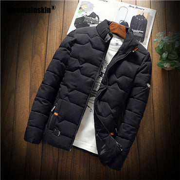 Casual Thicken Warm Cotton Jackets & Coat