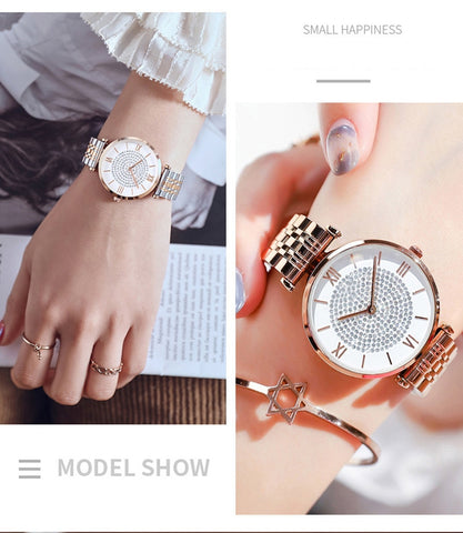 Crystal Bracelet Watches