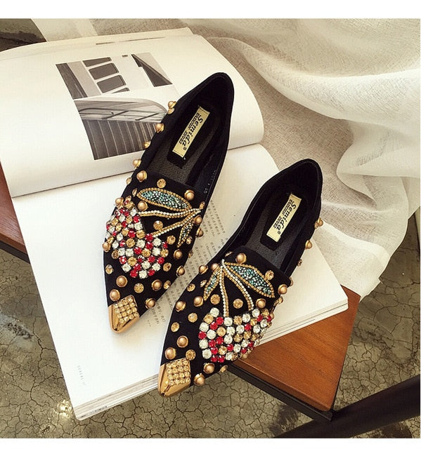 Slip On Sneakers Shoes Casual  Flat Shoes