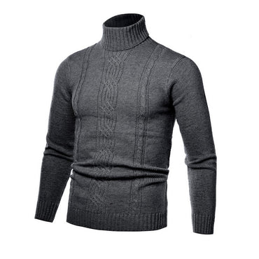 Casual Streetwear Plus Size Slim  Knitted Sweater