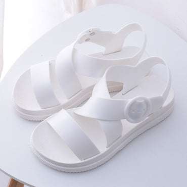 Gladiator Open Toe Buckle Soft Jelly Sandals