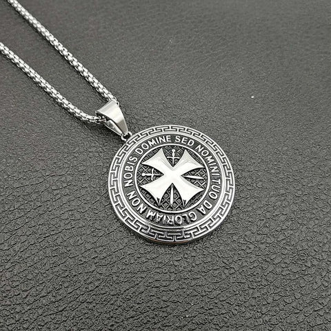 Stainless Steel Maltese cross Necklace